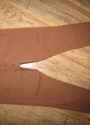 Тонкие джинсы брюки р-р м-28 стрейч h&m