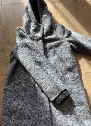 Пальто  куртка reserved с капюшоном осень весна