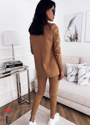 Женский костюм с пиджаком брючный костюм