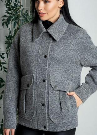 Пальто- рубашка, премиум качество, размер 48.