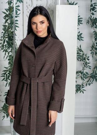 Бомбезное пальто, качество люкс, размер 46.