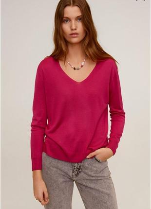 Натуральный красивый свитерок, пуловер, джемпер, кофта