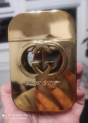Gucci guilty, 75мл, парфюмированная вода, оригинальный тестер