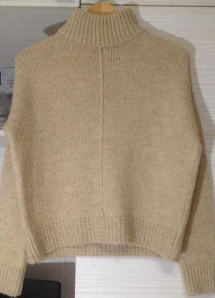 Крутой свитер джемпер с широким горлом new look размер s