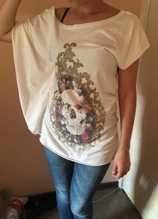 Ассиметричная футболка dorothy perkins