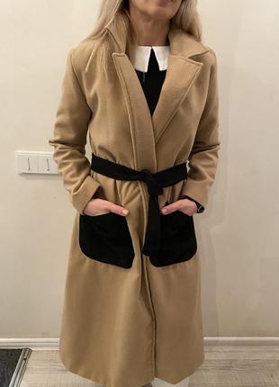 Шикарное длинное пальто
