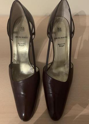 Туфли босоножки бренд оригинал bruno magli, италия