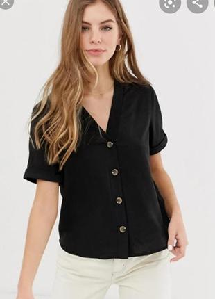 Блузка с пуговицами asos