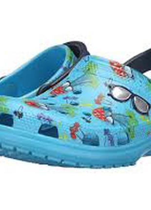 Сабо crocs classic summer fun clog, w9