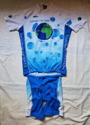 Велокостюм texner m (save planet)