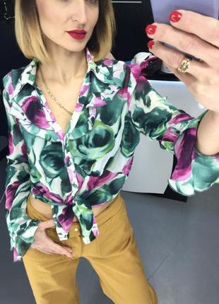 Бомбезна яскрава блуза, фірми marks&spencer
