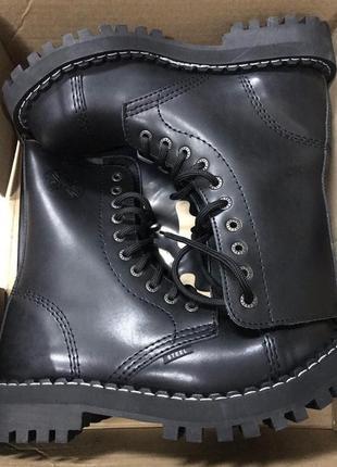 Крутые женские берцы steel оригинал оригінал original грубые ботинки платформа железный носок 36-47