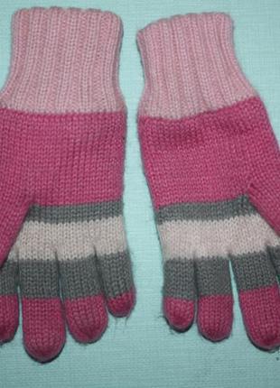 Зимние очаровательные двойные теплые перчатки на ребенка до 5-ти лет