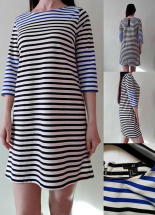 Платье - трикотаж средней плотности