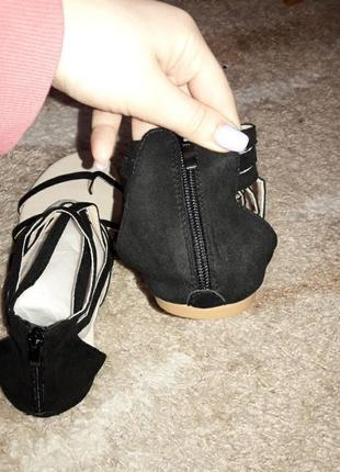 Босоножки туфли шлепанцы сланцы туфли шорты юбка большой размер для полной ноги2 фото