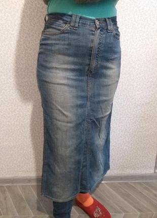 Джинсовая юбка. (5100)