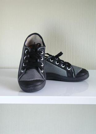 Кеды waldi серый с черными вставками