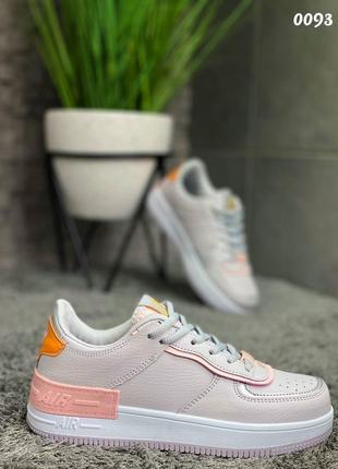 Кроссовки с цветными вставками10 фото