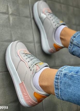 Кроссовки с цветными вставками5 фото