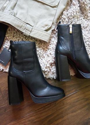 Суперские ботинки zara