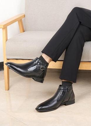 Зимние ботинки мужские, туфли.