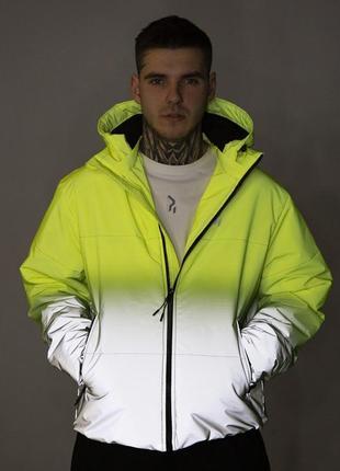 Куртка yard желто-рефлективная