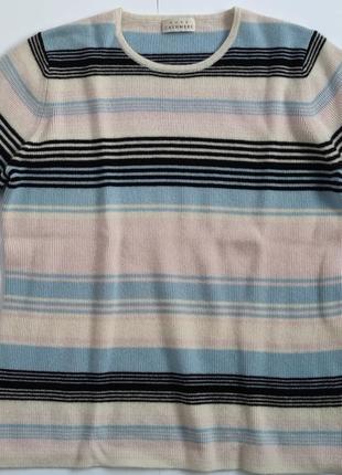 Джемпер короткий рукав pure cashmere