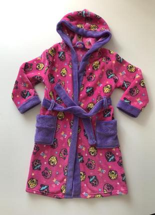 Очень срочно!!детский халат shopkins 5-6 лет