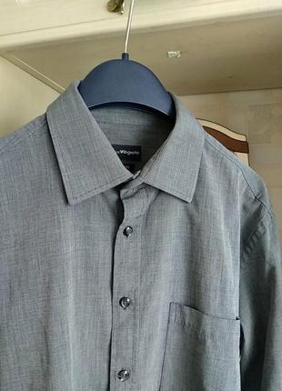Рубашка charles vögele.оригинал.41/42.м-l.