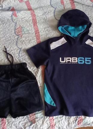 Спортивная футбольная форма футболка и шорты, р. 146-152, на футбол