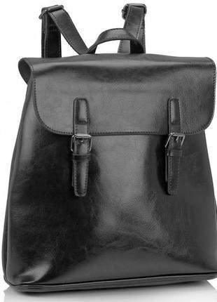Рюкзак женский кожаный стильный натуральная кожа повседневный городской