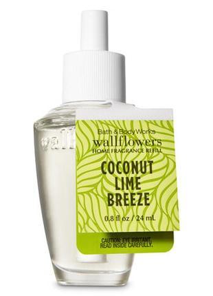 Фирменный аромат для дома coconut lime breeze от bath&body works,usa