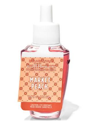 Фирменный аромат для дома coconut market peach от bath&body works,usa