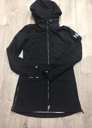 Парка весенняя водонепроницаема женская куртка