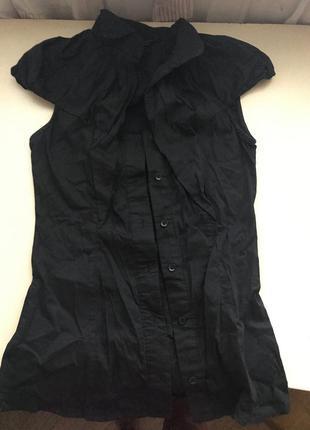 Чёрная блуза a.m.n. madness national