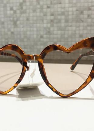 Очки окуляри солнцезащитные сонцезахисні в форме сердца