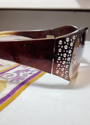 Очки с камнями, солнцезащитные2 фото