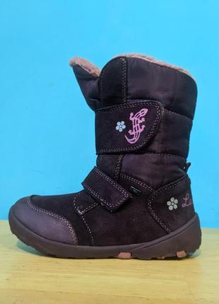Ботинки кожаные зимние lurchi