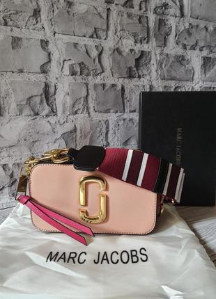 Сумочка клатч марк розовая пудровая