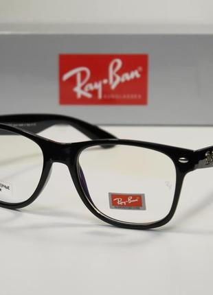 Компьютерные очки ray ban wayfarer с линзами blue blocker
