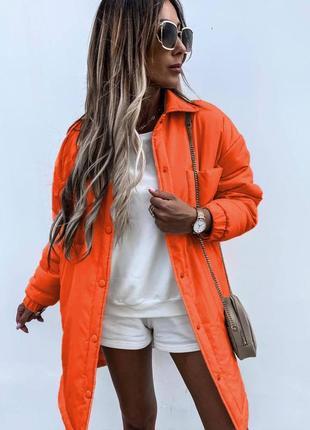 Пальто рубашка в стиле zara