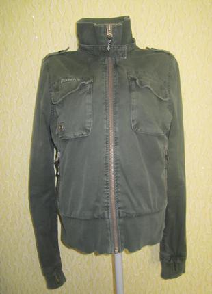 Стильная коттоновая куртка  reporter