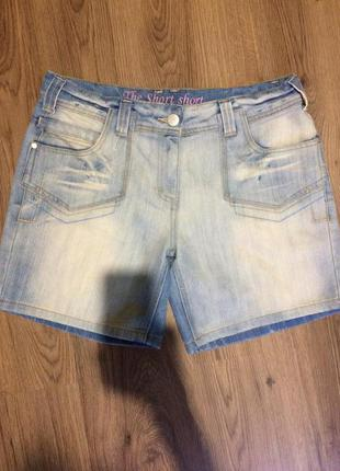 Джинсовые шорты!!