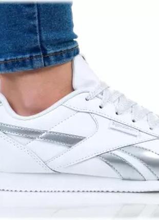 Кожанные кроссовки для города reebok classic leather (37р)оригинал