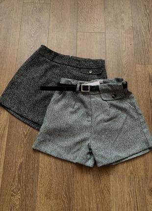 Шорты шерстяные женские, твидовые шорты, новые зимние женские шорты