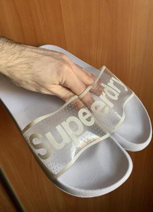 Тапки пляжные superdry, оригинал, 42 размер