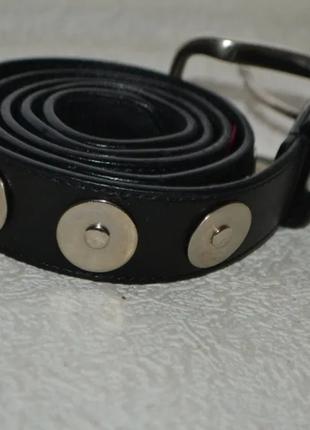 Женский дизайнерский кожаный ремень jil sander италия 90-36