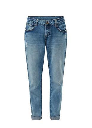 Шикарные джинсы бойфренды с высокой посадкой new look+подарок