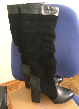 Зимові чобітки р. 37 шкіра