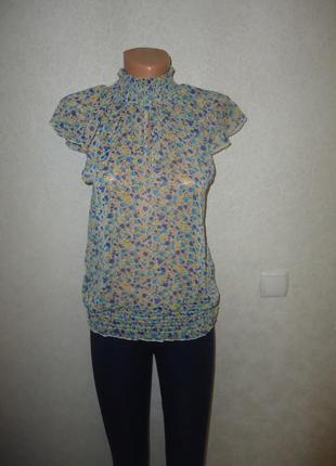 Интересная шифоновая блуза qed london